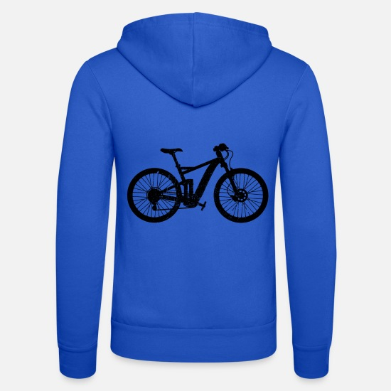 Bicycle Hoodies & Sweatshirts - bicycle - Unisex Zip Hoodie royal blue
