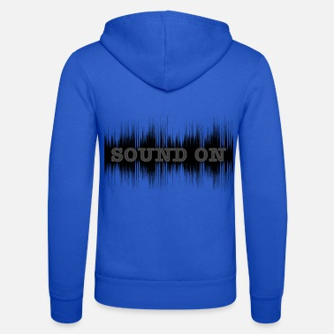 Sound Sound on dark - Veste à capuche unisexe