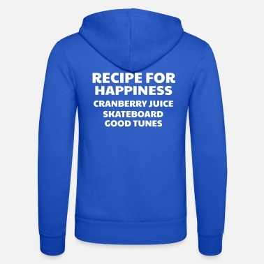 Good Ch Cranberry Vibes & Tunes Recipe for Happiness - Unisex Zip Hoodie