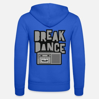 Mulino A Vento break dance - Felpa con zip unisex