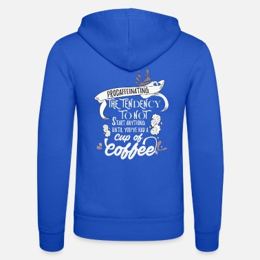 Cappuccino Coffee Shop Bean Shop Caffeine Break Barista Gift - Unisex Zip Hoodie