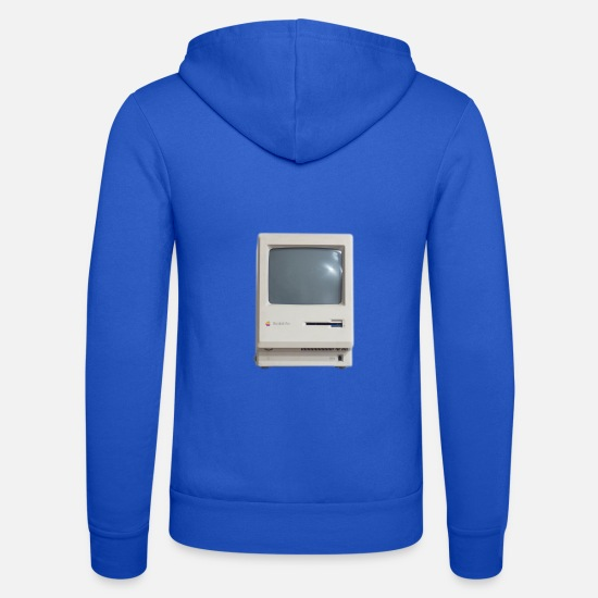 Technologie Sweat-shirts - Rétro Macintosh - Veste à capuche unisexe bleu royal
