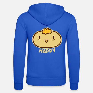 Joyeux poussins Smile Happiness Fun Joy Godigart - Veste à capuche unisexe
