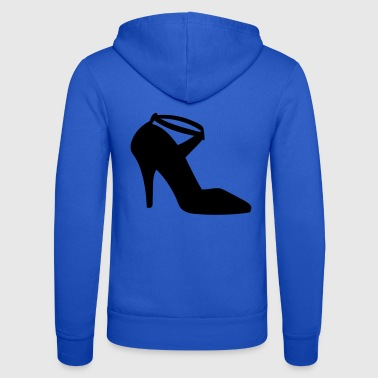 Vector highheels Silhouette - Unisex Hooded Jacket by Bella + Canvas