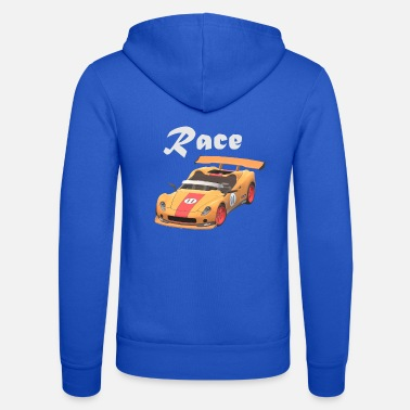 Sports Car Sports car, sports car, race car - Unisex Hooded Jacket by Bella + Canvas