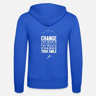 Change Change the world - Unisex hupputakki