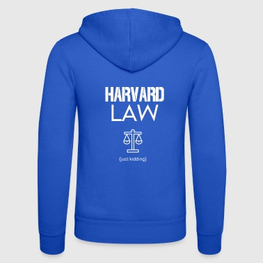 Harvard Law - Bluza z kapturem Bella + Canvas typu unisex