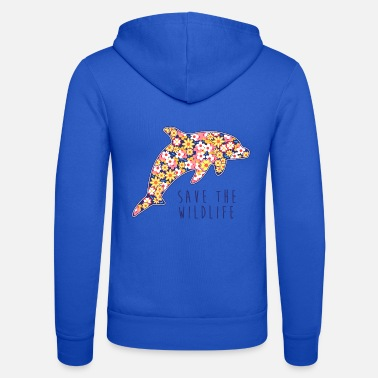 Animal Planet SAVE THE WILDLIFE DOLPHIN - Unisex Zip Hoodie