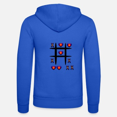 Tic Tac Toe Tic-Tac-Toe, play - Unisex Hooded Jacket by Bella + Canvas