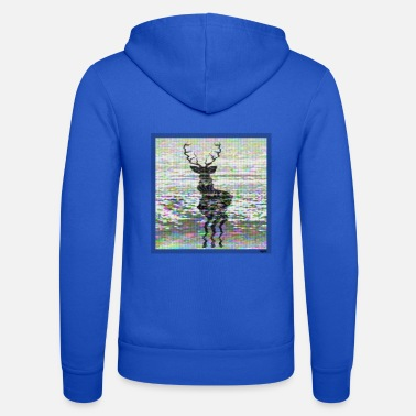 Officialbrands Snowy Deer /// odysee - Unisex Zip Hoodie