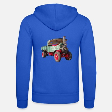 Steam Engine Steam truck, steam truck - Unisex Zip Hoodie