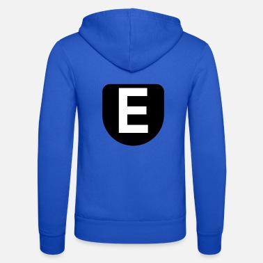 The letter E - Unisex Zip Hoodie
