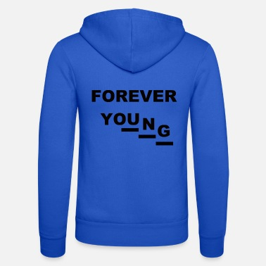 Young Money Forever Young (1) - Unisex Kapuzenjacke von Bella + Canvas