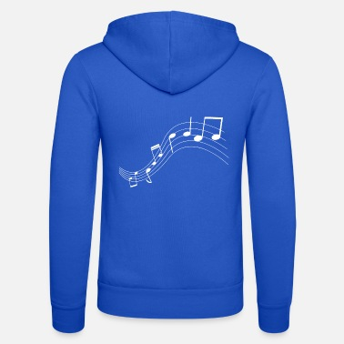 Music Music notes music notes - Unisex Zip Hoodie