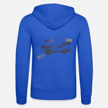 Delorean Prehistoric Delorean - Unisex Zip Hoodie