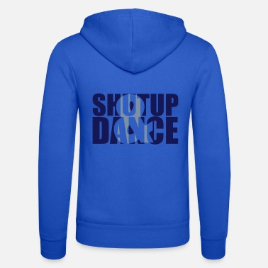 Ordspill shut up and dance - Unisex hettejakke