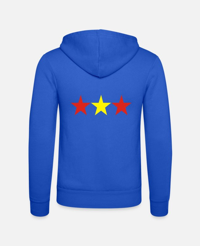 2008 Hoodies & Sweatshirts - 3 stars spain - Unisex Zip Hoodie royal blue
