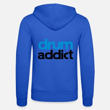 Addicted To Drums drum addict - Unisex Zip Hoodie