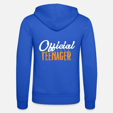 Teen Official Teen - Teens Teen Teen Gift - Unisex Zip Hoodie