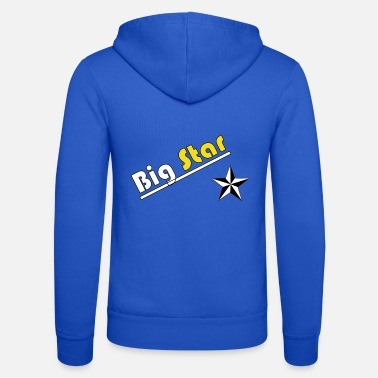 Big Big Star Design - Veste à capuche unisexe Bella + Canvas