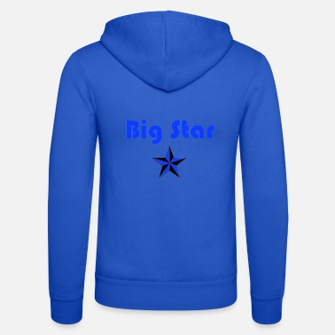 Big Stars Big Star Design - Unisex Zip Hoodie