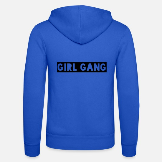 Gang Sweat-shirts - gang de fille - Veste à capuche unisexe bleu royal