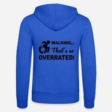Walkingoverrated2 - Unisex zip hoodie
