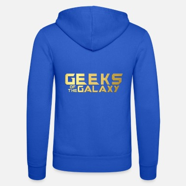 Geek Geek: Geeks of the Galaxy - Unisex Zip Hoodie