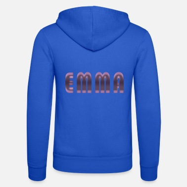 Birth Name Emma name first name name day birth gift idea - Unisex Zip Hoodie