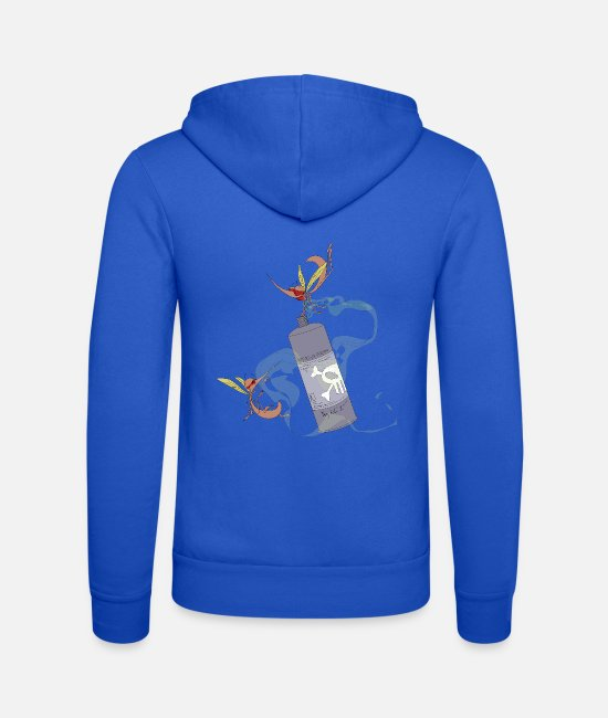 High Hoodies & Sweatshirts - Rinse Mücke Mückenspray - Unisex Zip Hoodie royal blue