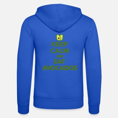 Keep Calm Avocado - Unisex Kapuzenjacke
