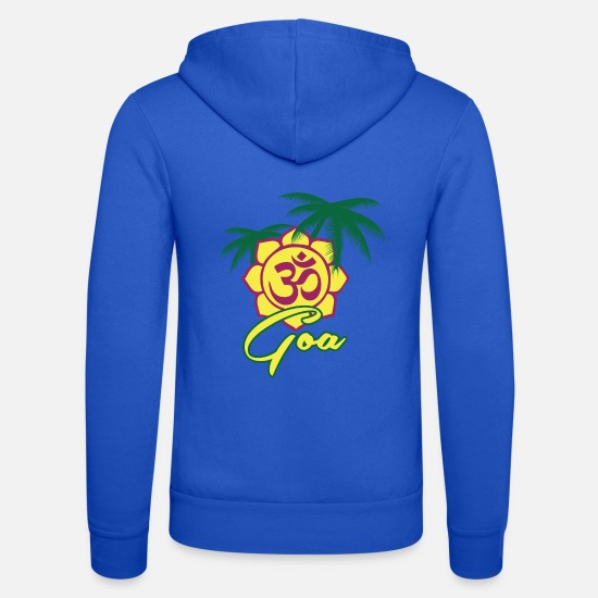 Bouddhisme Sweat-shirts - Goa - Veste à capuche unisexe bleu royal