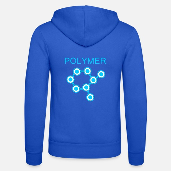 Car Hoodies & Sweatshirts - Polymer Protection - Unisex Zip Hoodie royal blue