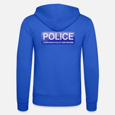 POLICE Corporate Policy Enforcers - Unisex Zip Hoodie