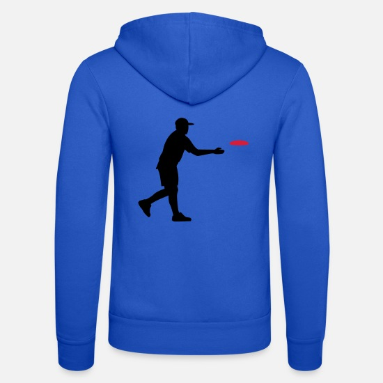 Golf Hoodies & Sweatshirts - disc Golf - Unisex Zip Hoodie royal blue