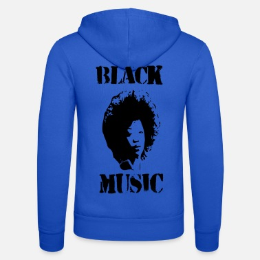 Black Music Black Music Woman - Unisex Zip Hoodie