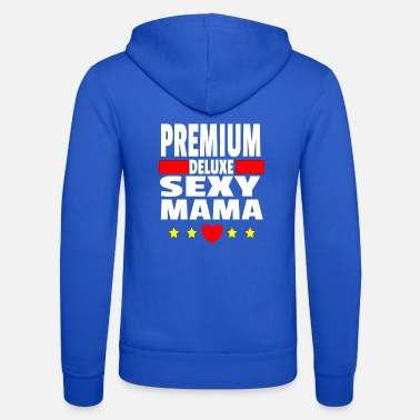Premium mom gift idea pregnant baby birth - Unisex Zip Hoodie