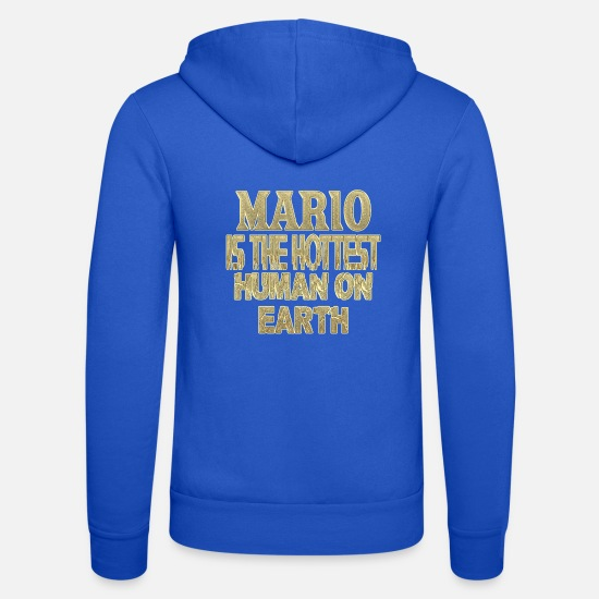 Mario Hoodies & Sweatshirts - Mario - Unisex Zip Hoodie royal blue