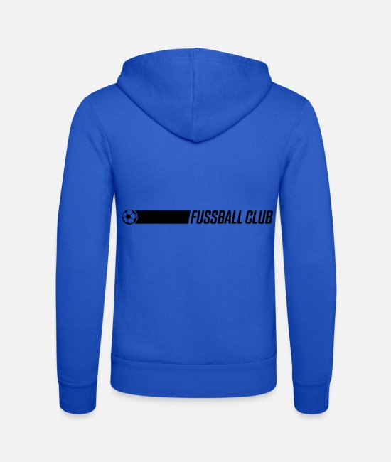 Symbol  Hoodies & Sweatshirts - football club - Unisex Zip Hoodie royal blue