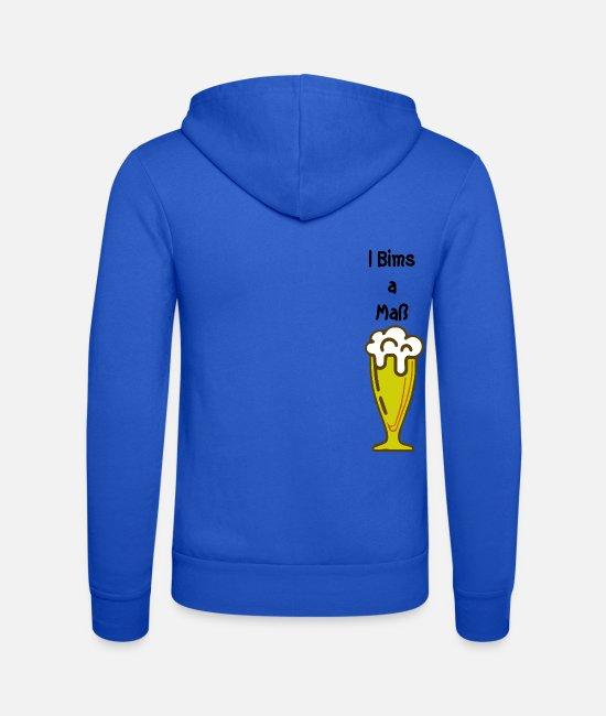 Munich Hoodies & Sweatshirts - I bims a measure - Unisex Zip Hoodie royal blue