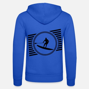 Up Stand Up Paddle - Unisex Zip Hoodie