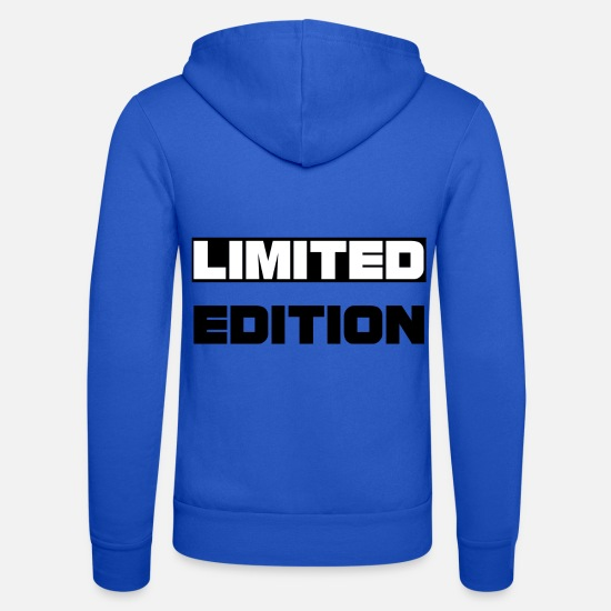 Limited Edition Hoodies & Sweatshirts - LIMITED EDITION - Unisex Zip Hoodie royal blue