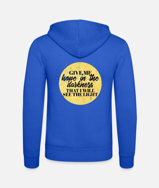 Think Hoodies & Sweatshirts - World Youth Day - Church - Faith - Religion - God - Unisex Zip Hoodie royal blue