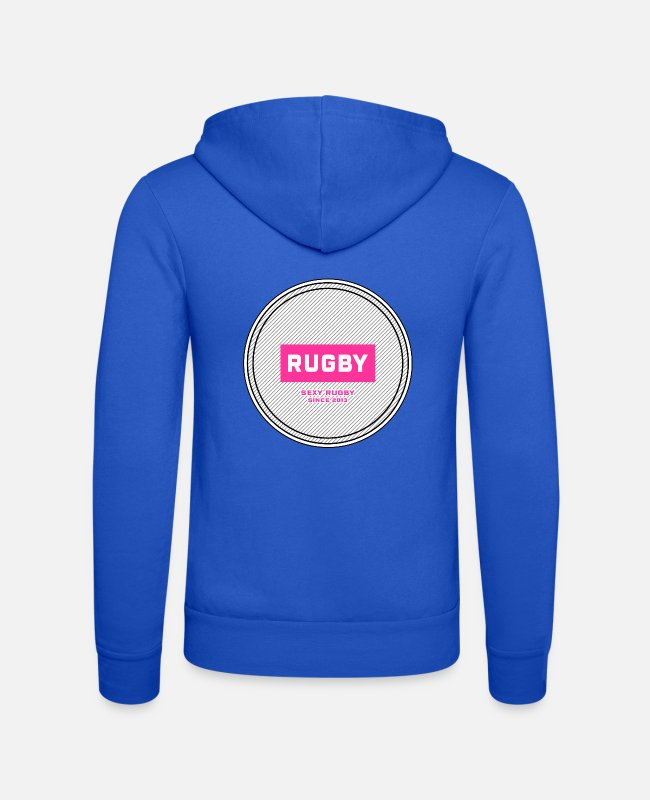 World Championship Hoodies & Sweatshirts - Rugby - Unisex Zip Hoodie royal blue