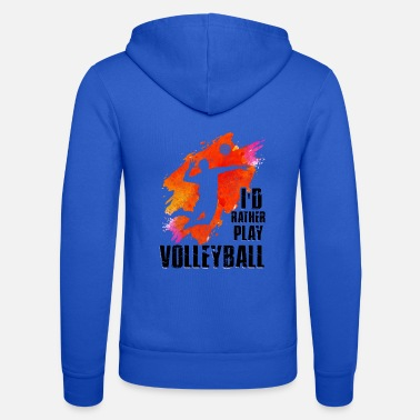 Beachvolleyball Volleyball Beachvolleyball Team Geschenkidee - Unisex hoodie van Bella + Canvas