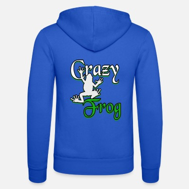 Froschlurch Frog Frogs Save the Frogs Green saying - Unisex Zip Hoodie