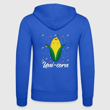 Uni-Corn - Unisex Hooded Jacket by Bella + Canvas