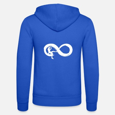 Infinity Infinity climbing - Unisex Hooded Jacket by Bella + Canvas