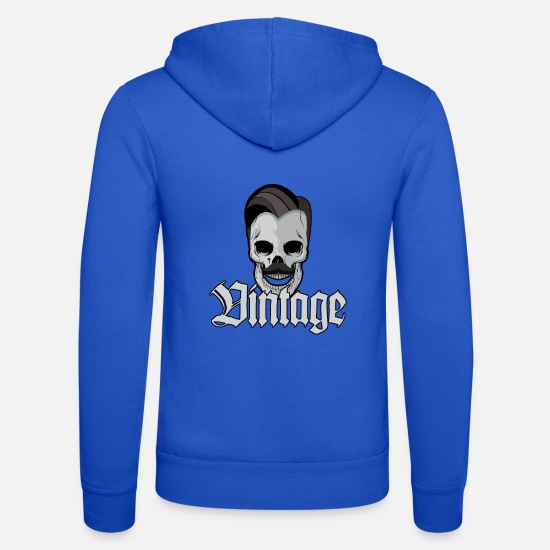 Pâques Sweat-shirts - Rockabilly - Veste à capuche unisexe bleu royal