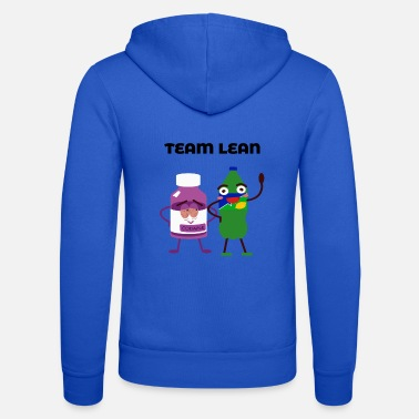 Sprite Team Sprite and Codaine Lean Couple Funny Friends - Unisex Zip Hoodie